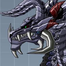 Robot Skeleton Dragon